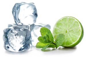 IceZone-cocktail-water-mint-lemon-ice-cube